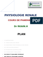 Physio Renale 4eme Cours