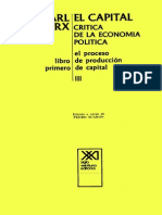 Marx Karl El Capital 3 Tomo 1