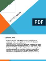 Criptografia presentacion