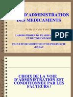 Voie Administration