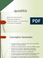 Bronquiolitis Pediatria