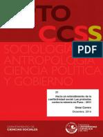Hacia un entendimiento de la conflictividad social
