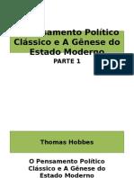 Hobbes, Locke e Rousseau
