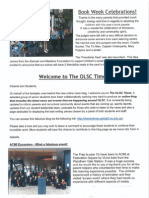 the olsc times newsletter