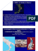 L'unità d'Italia e l'impresa dei Mille - parte 3