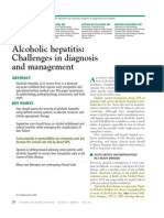 Alcoholic Hepatitis Challenge in Dx and TX Clev Clinc 2015