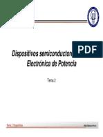 Dispositivos Semiconductores Para Elec. de Potencia