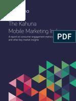 Kahuna Mobile Marketing Index