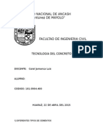 Informe 1 Tecnologia Del Cocnreto