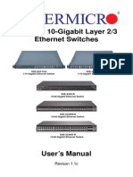 Layer 2-3 Ethernet Switches
