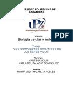 Actividad Biologia Celular U3