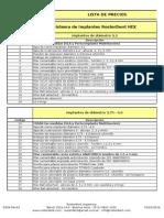 Lista de Precios [Febrero 2014] Rev 04