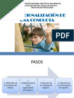 Operacionalizacion y Registro de Una Conducta