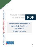 Mp 2014 Modelar Habilidad Aprendizajes Matematica