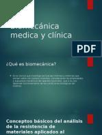 Biomecánica Médica y Clínica