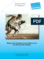 Manual Atletismo Para Primaria