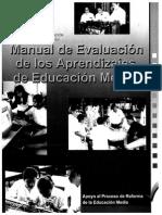 Manual de Evaluacion de Los Aprendizajes de Educacion Media 2