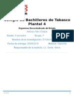 Colegio de Bachilleres de Tabasco Plantel 1