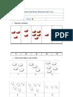 40 Láminas de Actividades y Pruebas Matemáticas 1º Básico