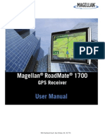Magellan Road Mate 1700 User Manual