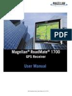 Magellan Road Mate 1700 User Manual