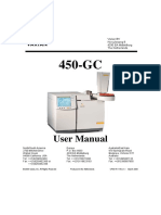 Varian GC450 User Manual English