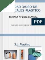 Uso de Materiales Plastico