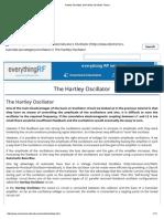 Hartley Oscillator and Hartley Oscillator Theory