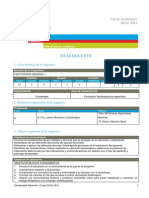 Programa Carrera Fisioterapia - Conceptos 1101102t