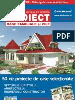 Revista PROIECT - Catalog de Case Moderne Nr. 1/2011