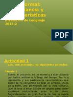 MA Qué Es El Léxico Formal 2 3c 2015-2