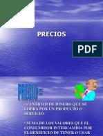 Presentación PRECIOS