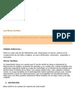 Primera Parte El Proceso Industrial Textil Cap 3 Al 15