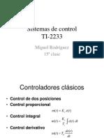 Sistemas de Control Controladores Clasicos