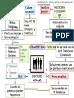 Mapa Conceptual m. Tradicional y m. Folklórica