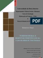 Turismo rural e desenvolvimento local