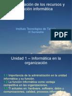 104922697 Unidad1 Informatica en La Organizacion Clase1
