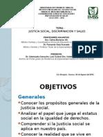 JUSTICIA SOCIAL ,Discriminacion y Salud (1)
