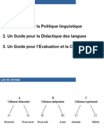 1. Un Guide Pour La Politique Linguistique
