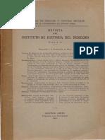 Revista de Historia Del Derecho, Nº11, 1960 - Artículo Zorroaquín Becú «La Doctrina Jurídica de La Revolución de Mayo»