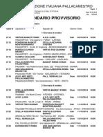 schedule pallacanestro serie b 2014
