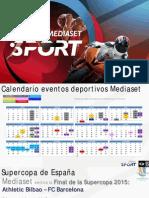 sports mediaset 2015