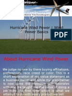 Hurricane Wind Power | Wind Power Basics