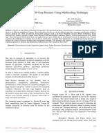 Survey Detection of Crop Diseases Using Multiscaling Technique