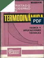 Baehr H.D.-tratado Moderno de Termodinamica-Jose Marteso (1979)