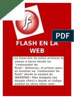 FLASH EN LA WEB