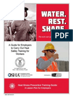 Osha Heattraining Guide 0411