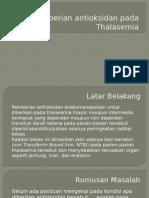 Antioksidan thalasemia