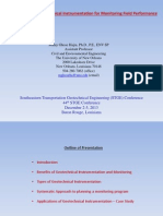 2013-04. Hajra - Geotechnical Instrumentation for Monitoring Field Performance