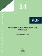 14. Arquitectura, Arquitectos y Museos